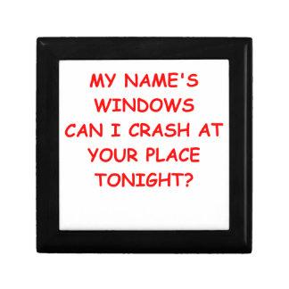 windows gift box
