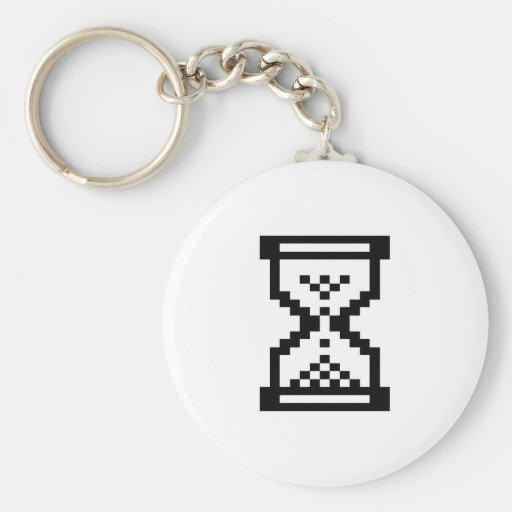 Windows-Hourglass Keychains