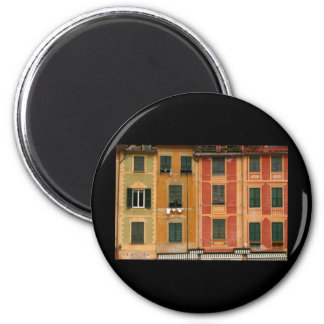 Windows in Portofino, Italy Magnet