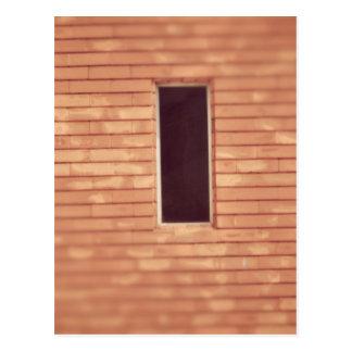 Window's in stair postcard