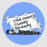 Windows, Laundry or Shopping! Stickers