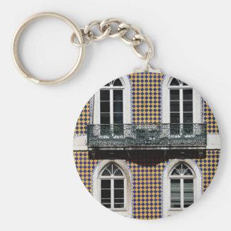 Windows of Lisbon Keychain