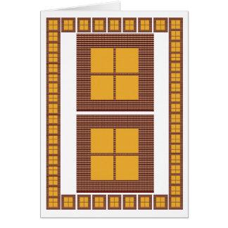 Windows of Opportunity : Motivational Art Card