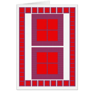Windows of Opportunity : Motivational Art Greeting Card
