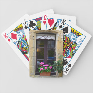 Windows of the Dordogne Bicycle Playing Cards