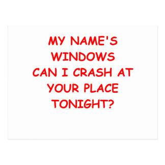 windows postcard