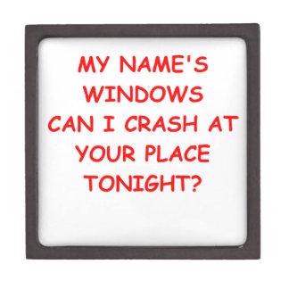windows premium keepsake boxes