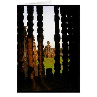 Windows thru Angkor Wat Card