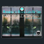 "Windows To Black Cats Of the World 2018 Calendar<br><div class=""desc"">Your 2018 just got brighter. The companion to our nonprofit book Black Cats Tell All is a full color 2018 calendar with all new black cat photography. From South Africa to Norway and of course the United State, these gorgeous house panthers will bring smiles every month of the year. They...</div>"
