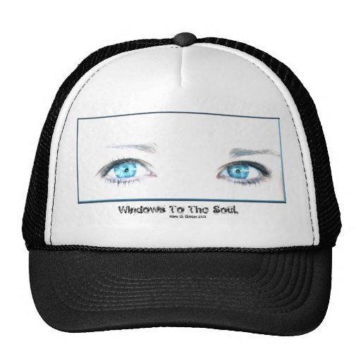 Windows To The Soul. Mesh Hat
