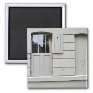 Windows, Whitechapel, Londres Imán Cuadrado