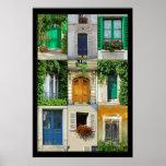 Windows y puertas de Francia Posters