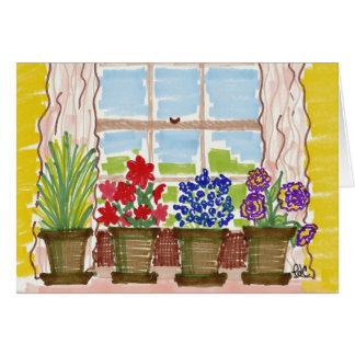 Windowsill Christian New Home Congrats Card