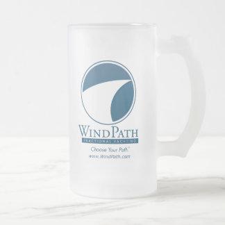 WindPath Frosted Glass Mug