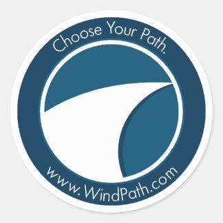 "WindPath ""Infinite Path"" Sticker"