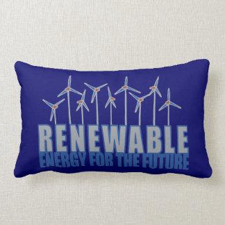 Windpower Energy Throw Pillow
