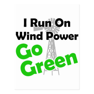 windpower postcard