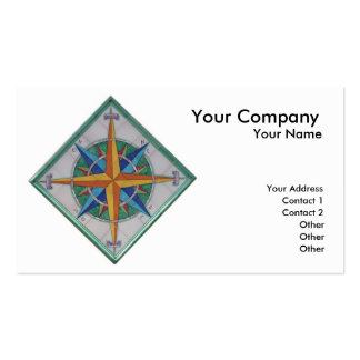Windrose Double-Sided Standard Business Cards (Pack Of 100)