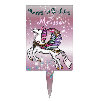 Winds and Wings Pegasus Cake Topper