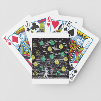 Winds niyanko castle cherry tree snowstorm bicycle playing cards