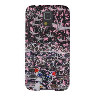 Winds niyanko castle cherry tree snowstorm galaxy s5 cover