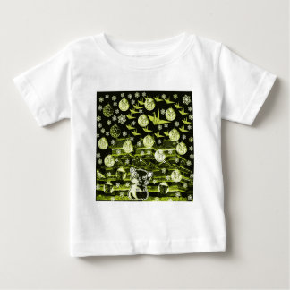 Winds niyanko castle snow compilation infant t-shirt