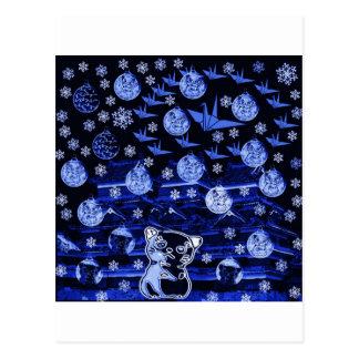 Winds niyanko castle snow compilation postcard