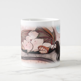 Winds of Autumn Fairy and Dragon Mug