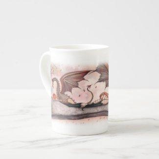 Winds of Autumn Fairy Dragon Tall Mug Bone China Mug