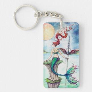 Winds of Ireland Mermaid Fantasy Art Keychain