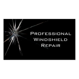 Windshield Repair Business Card
