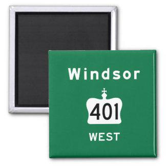 Windsor 401 imán cuadrado