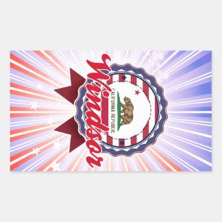 Windsor CA Rectangle Sticker