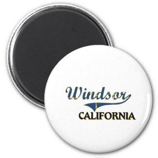 Windsor California City Classic 2 Inch Round Magnet