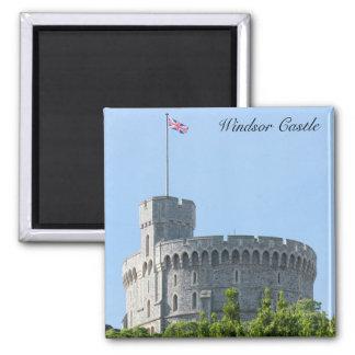 Windsor Castle 2 Inch Square Magnet