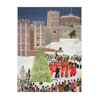 Windsor Castle Carol Concert 1989 Canvas Print