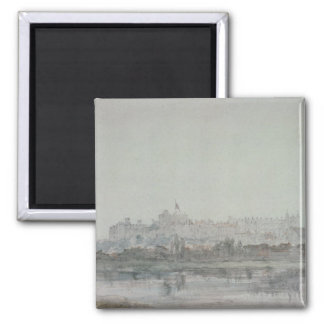 Windsor Castle from the River, 19th century Magnet
