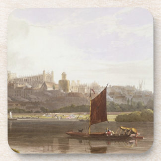 Windsor Castle from the River Meadow on the Thames Coaster