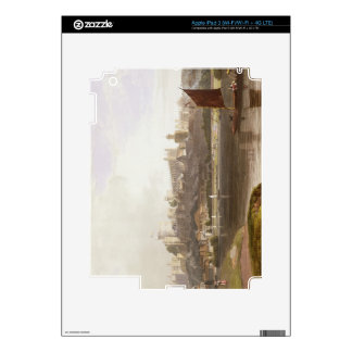 Windsor Castle from the River Meadow on the Thames iPad 3 Decal