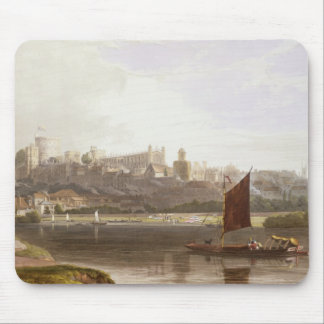 Windsor Castle from the River Meadow on the Thames Mouse Pad