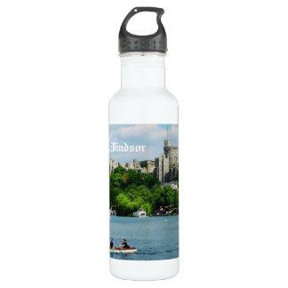 Windsor Castle from the Thames 24oz Water Bottle