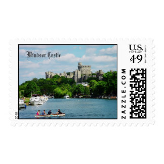 Windsor Castle from the Thames postage