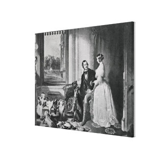 Windsor Castle in modern times Canvas Print