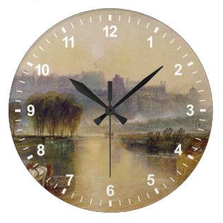 Windsor Castle Large Clock
