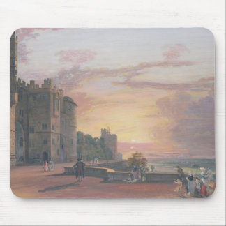 Windsor Castle: North Terrace looking west at suns Mouse Pad