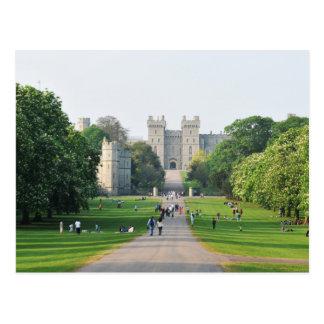 Windsor castle postcard