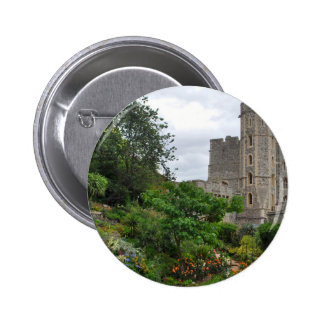 Windsor Castle royal king country personalized Pinback Button