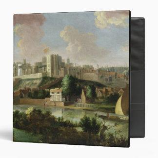 Windsor Castle seen from the Thames, c.1700 (oil o Binder