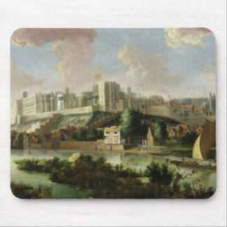 Windsor Castle seen from the Thames, c.1700 (oil o Mouse Pad