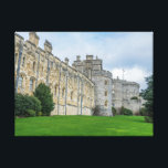 "Windsor Castle view canvas print<br><div class=""desc"">Beautiful photograph of Windsor Castle in Berkshire,  UK printed on a canvas.</div>"